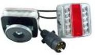 7 poliges LED Vierfunktions- Anhängerrücklicht Set