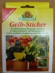 Anti-Insekten Gelb-Sticker
