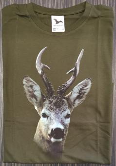 T-Shirt Rehbock bunt