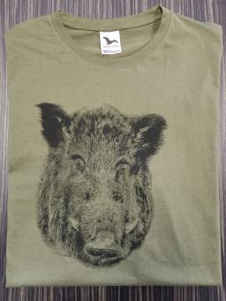 T-Shirt Schwarzwild sw