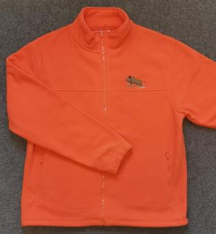 Fleecejacke orange Keiler