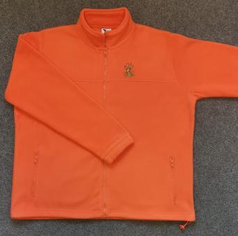 Fleecejacke orange Bock