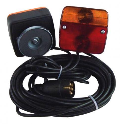 Dreifunktionsleuchte mit Magnethalter