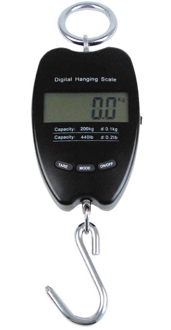 LCD Wildwaage bis 200kg