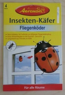 Insekten-Käfer - Fliegenköder 2 x 4 Stück