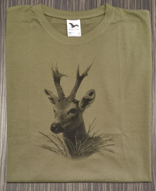 T-Shirt Rehbock sw