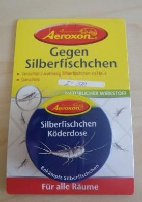 Silberfischchen Köderdosen 4 Stück