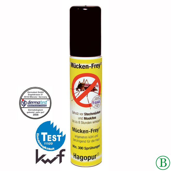Hagopur Mücken-Frey Spray