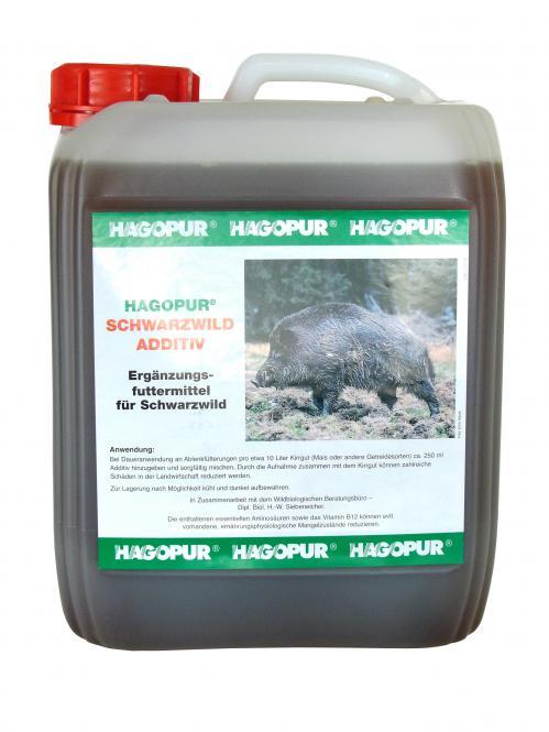Schwarzwild Additiv - Lockmittel Hagopur 5L