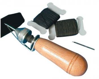Nähahle für Leder und schwere Stoffe