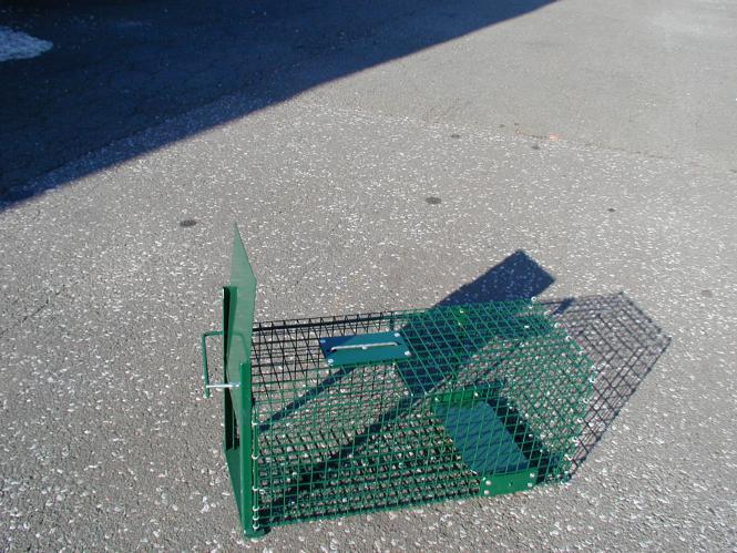 Kaninchen Lebendfalle Kleintier 22 x 24 x 52 cm