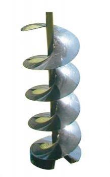 Erdlochbohrer für Löcher von 10 cm Durchmesser