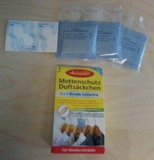 Mottenschutz-Duftsäckchen 2 x 3 Stück