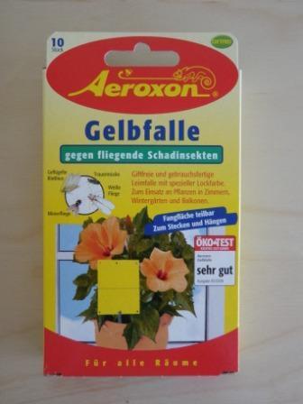 Gelbfalle f r topfpflanzen 2 x 10 st ck for Fliegen in topfpflanzen